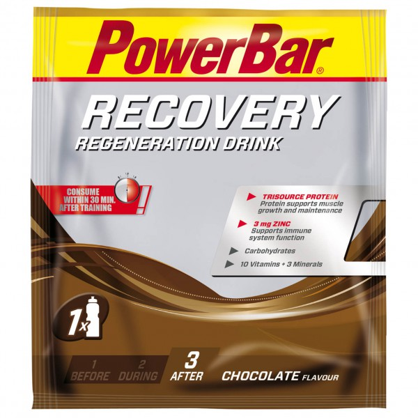 PowerBar - Recovery Drink Chocolate - Regenerationsdrink
