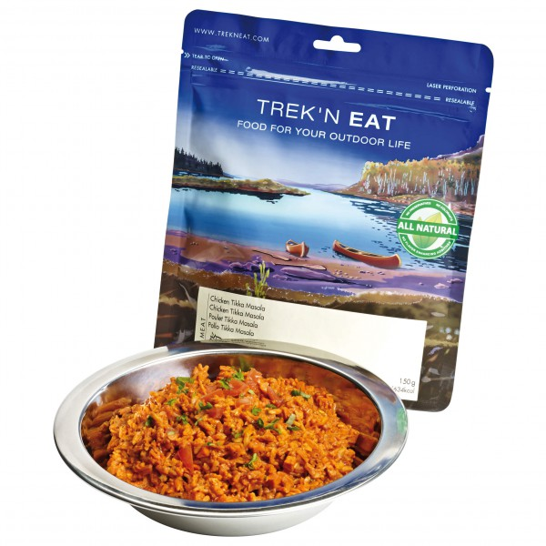 Trek'n Eat - Chicken Tikka Masala - Main course