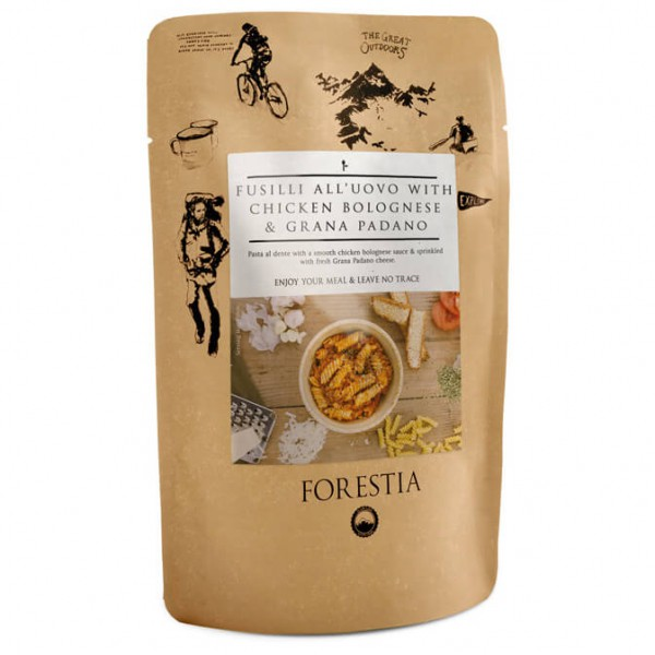 Forestia - Fusilli All'Uovo With Chicken Pouch