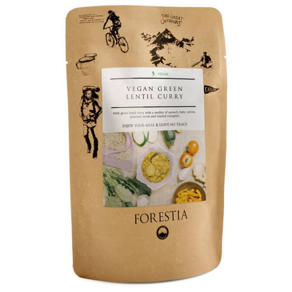 Forestia - Vegan Green Lentil Curry Pouch