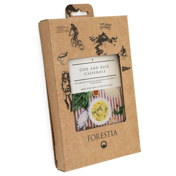 Forestia - Cod Rice Self-Heating Meal