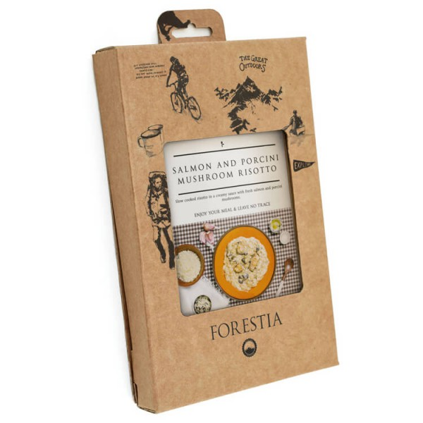 Forestia - Salmon Risotto Self-Heating Meal
