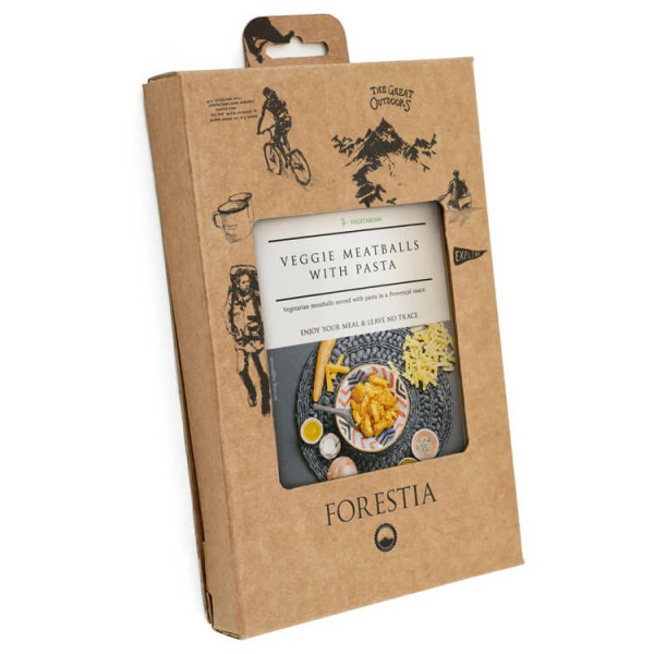 Forestia - Veggie Meatballs Self-Heating Meal