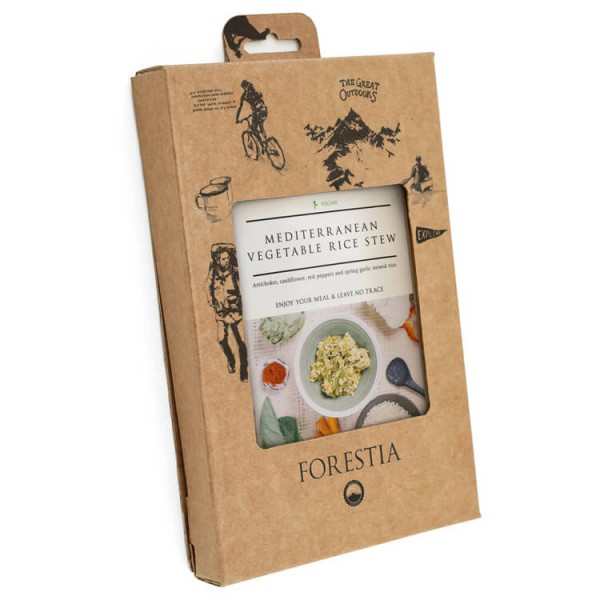 Forestia - Veggie Rice Stew Self-Heating Meal