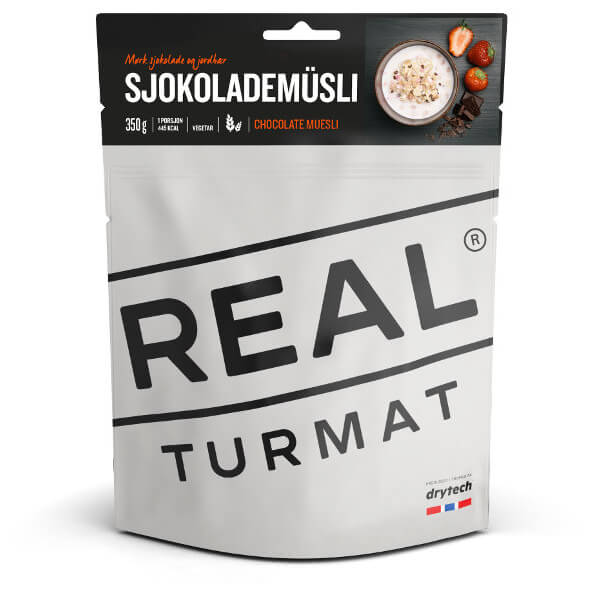 Real Turmat - Chocolate Müsli - Breakfasts