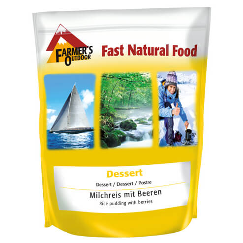 Farmer's Outdoor - Milchreis Mit Beeren