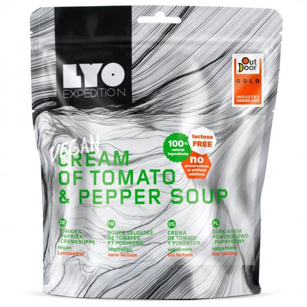 Lyo Food - Tomaten-Paprika Cremesuppe