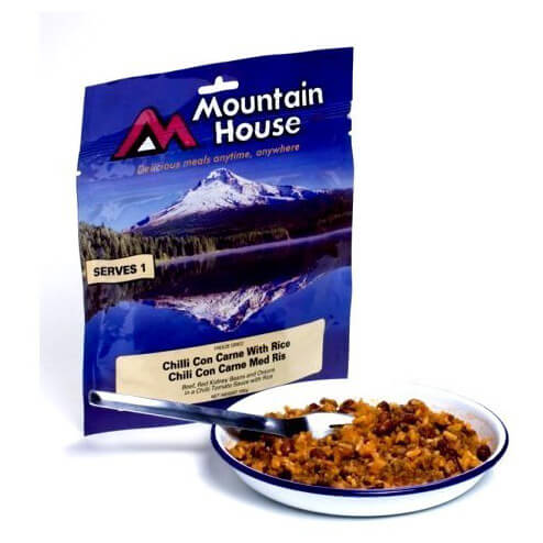 Mountain House - Chilli con Carne mit Reis