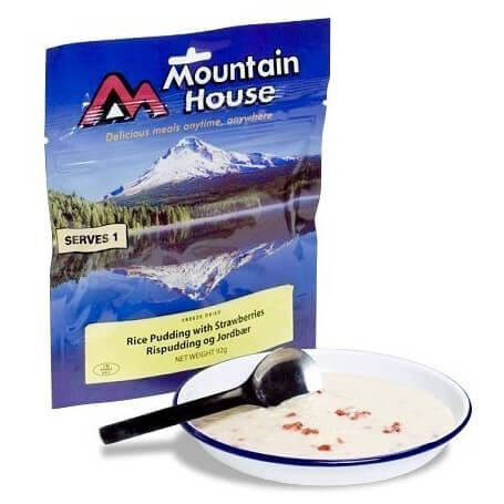 Mountain House - Reispudding mit Erdbeeren