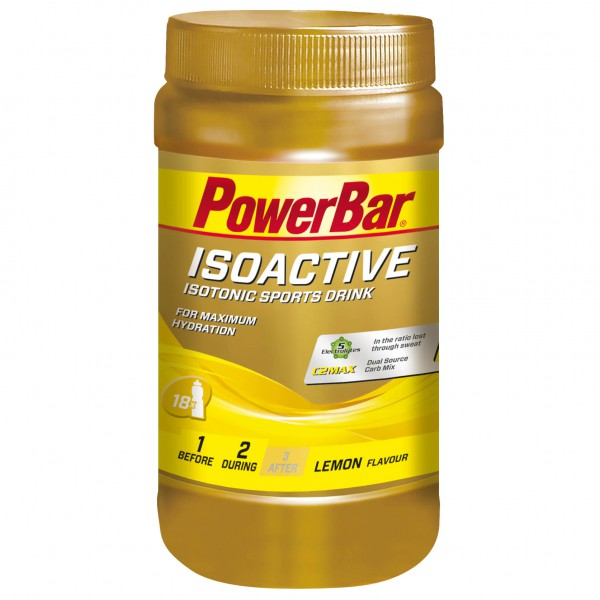 PowerBar - Isoactive Lemon - Boisson isotonique
