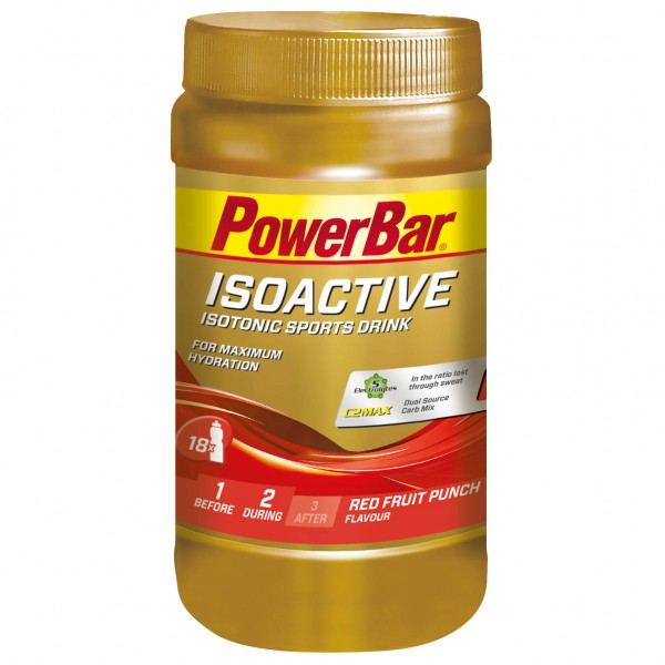 PowerBar - Isoactive Red Fruit Punch - Boisson isotonique