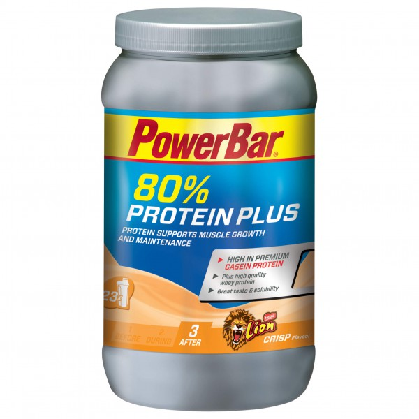PowerBar - Protein Plus 80% Dose Lion-Crisp - Proteindryck