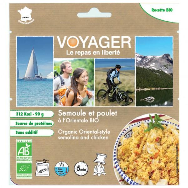 Voyager - Grieß Mit Hähnchen Auf Orientalische Bioart