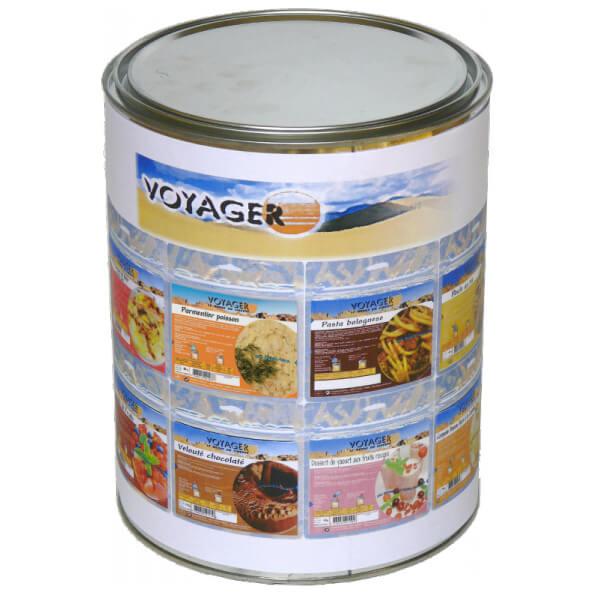 Voyager - Haltbare Nahrungsmittelkonserve