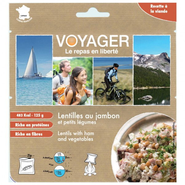 Voyager - Linsen Mit Schinken Und Gemüse