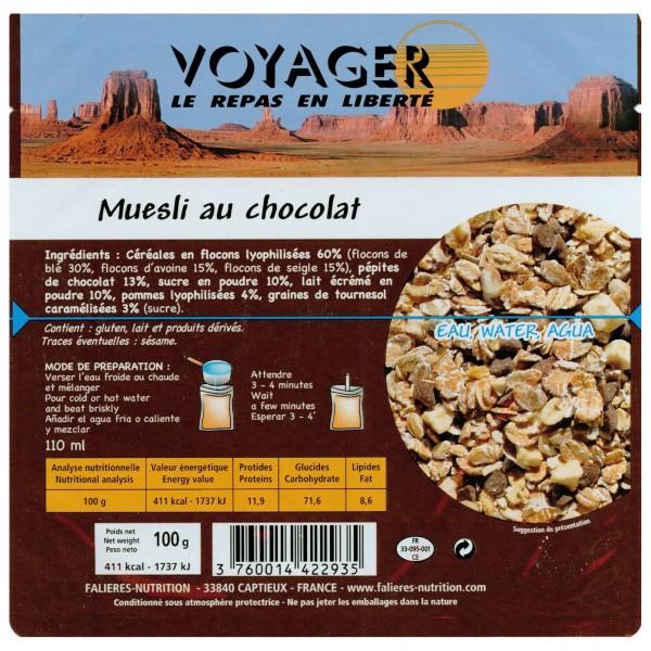 Voyager - Muesli Mit Schokolade