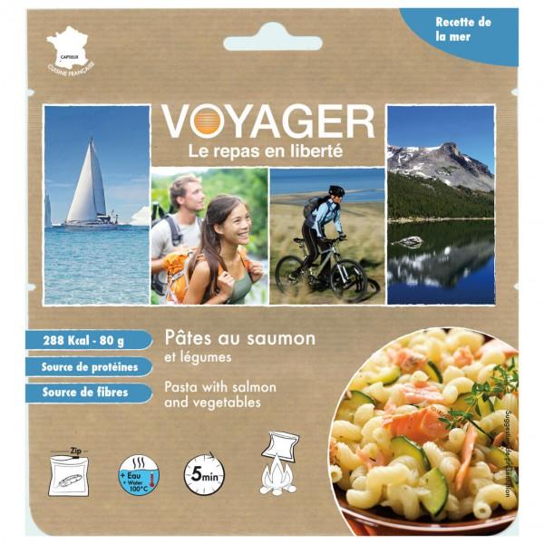 Voyager - Nudeln mit Lachs und Gemüse