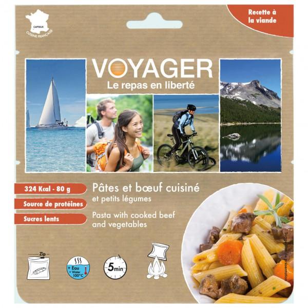 Voyager - Nudeln mit Rindfleisch und Gemüse