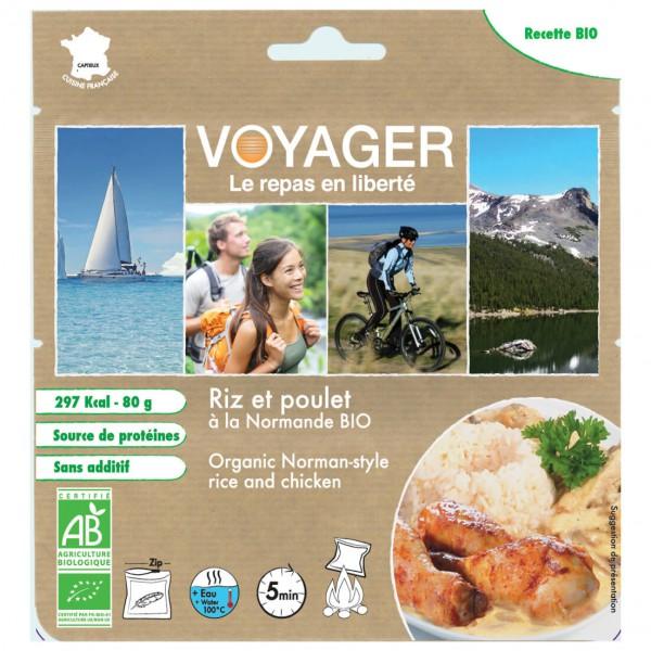 Voyager - Reis Mit Hähnchen Auf Normannische Bioart