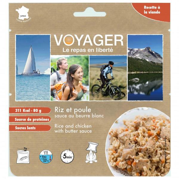 Voyager - Reis und Huhn mit Buttersauce