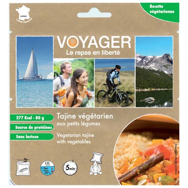 Voyager - Vegetarische Tajine mit Kleingemüse