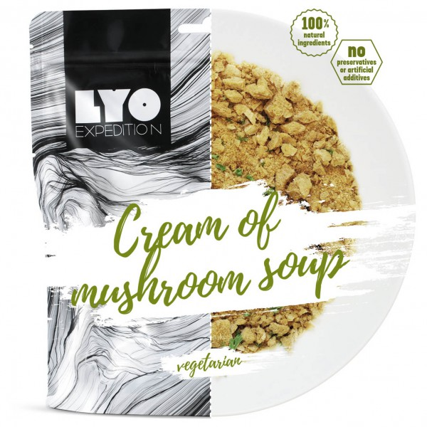 Lyo Food - Cream Of Mushroom Soup