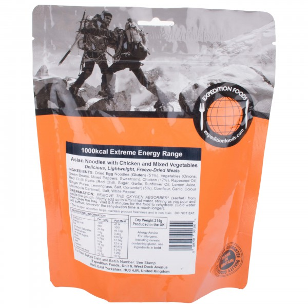 Expedition Foods - Asian Noodles/Chicken (Extreme Energy)