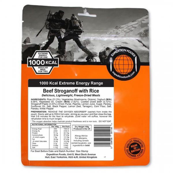 Expedition Foods - Beef Stroganoff With Rice (Ex. En.)