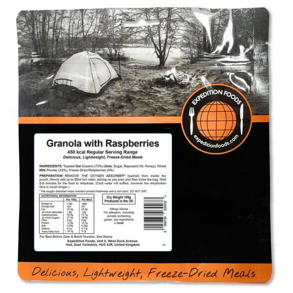 Expedition Foods - Granola With Raspberries (Regular)