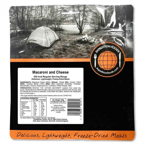 Expedition Foods - Macaroni And Cheese (Regular)