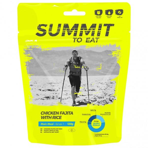 Summit to Eat - Mexikanisches Hühnchen ( Fajita ) mit Reis