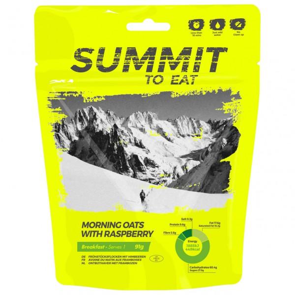 Summit to Eat - Müsli mit Himbeeren