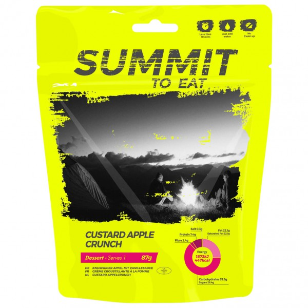 Summit to Eat - Vanillepudding mit Apfel
