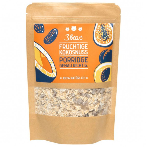 3Bears - Fruchtige Kokosnuss Porridge