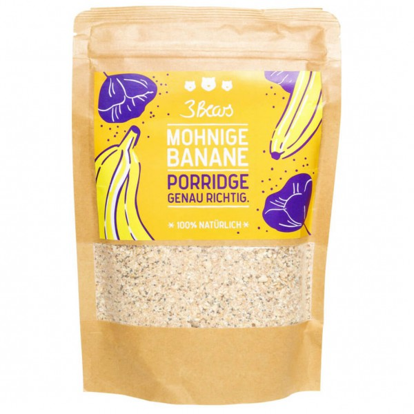 3bears mohnige banane porridge online kaufen. Black Bedroom Furniture Sets. Home Design Ideas