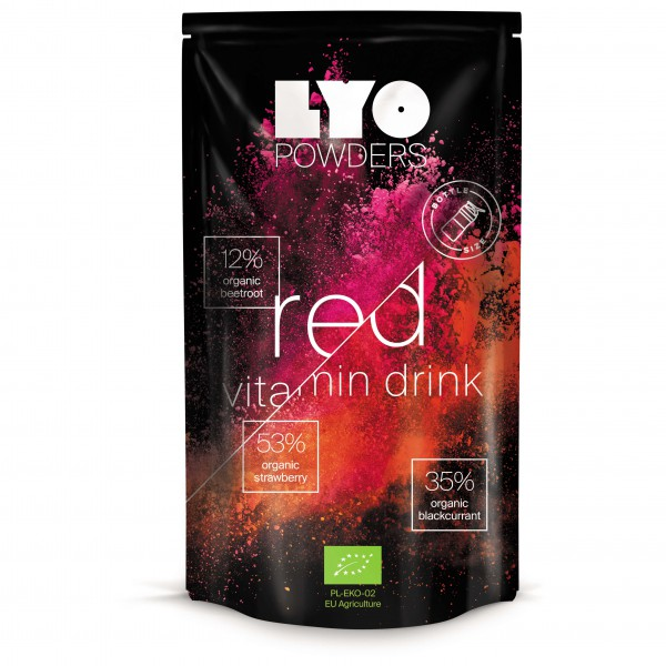 Lyo Food - Red Vitamin Drink - Bottle Size