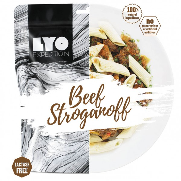 Lyo Food - Beef Stroganoff