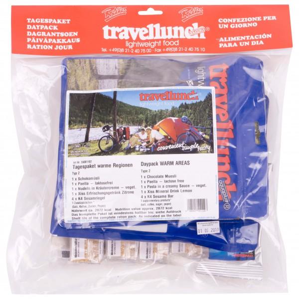 Travellunch - Tagespaket ''Warme Regionen'' Typ 2
