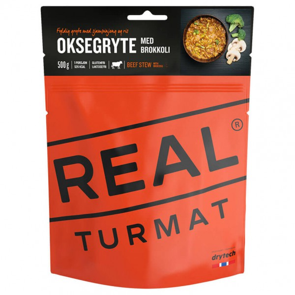 Real Turmat - Beef Stew with Broccoli - Expeditionsnahrung
