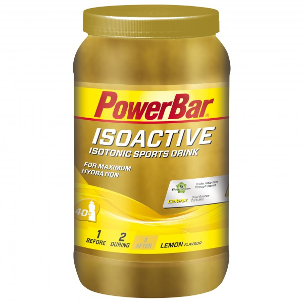 PowerBar - New Isoactive Lemon - Energiegetränk
