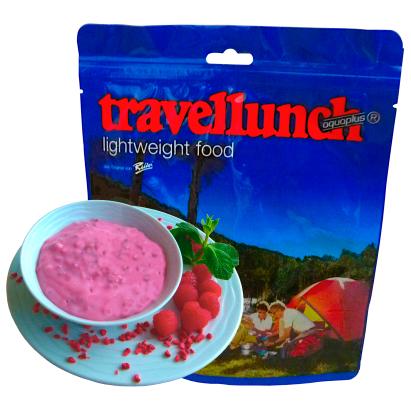 Travellunch - Instantdessert Himbeercreme