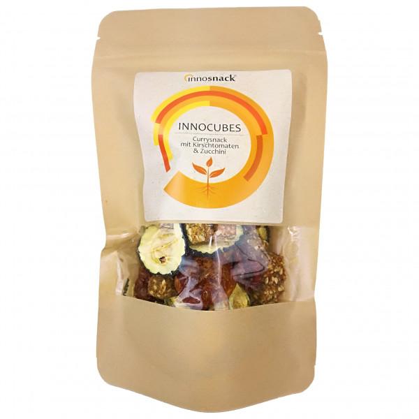 Innosnack - Innocubes Currysnack, Kirschtomaten, Zucchini - Energieriegel
