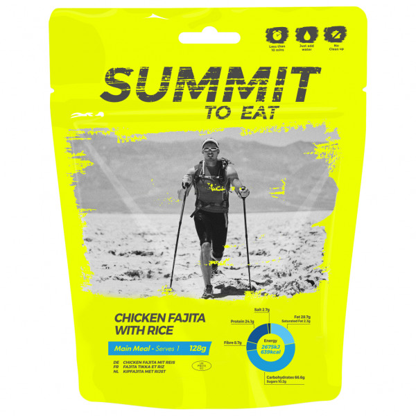 Summit to Eat - Mexikanisches Hühnchen (Fajita) m Reis - Big Pack