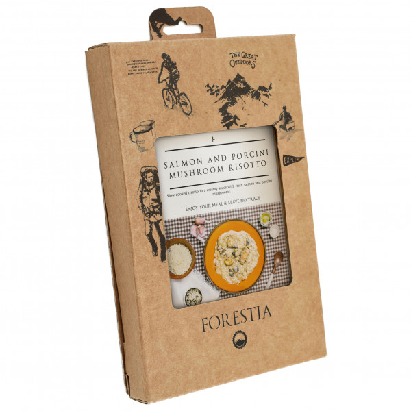 Forestia - Salmon And Mushroom Risotto