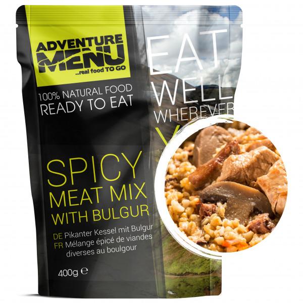Adventure Menu - Spicy Meatmix with Bulgur