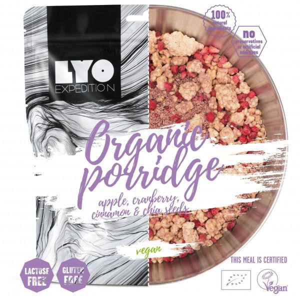 Lyo Food - Organic Apple, Cranberry and Cinnamon Porridge