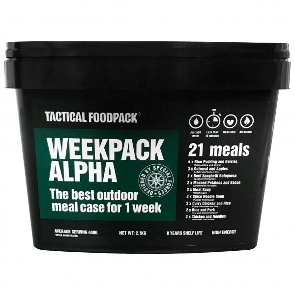 TACTICAL FOODPACK - Weekpack Alpha