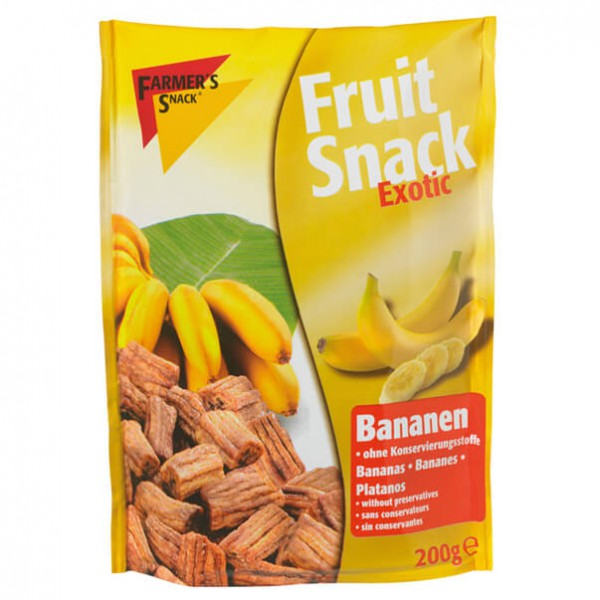 Farmer's Outdoor - Fruit Snack Bananenstücke