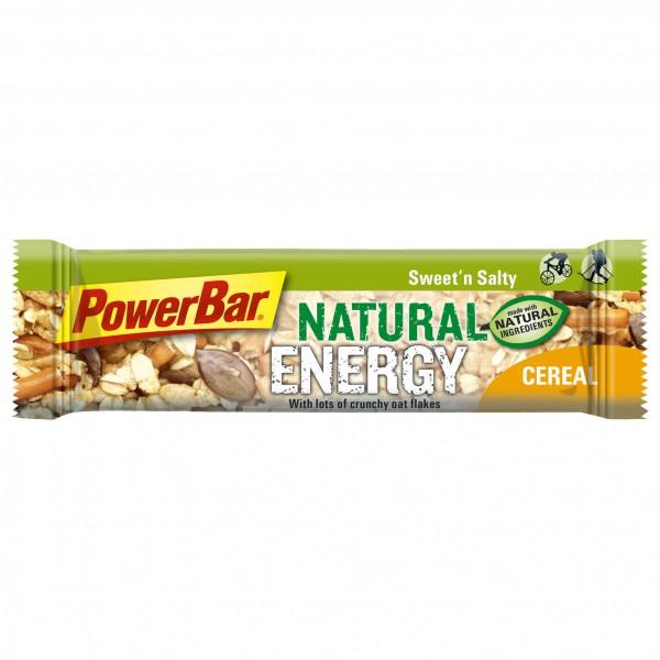 PowerBar - Natural Energy Cereal - Barres énergétiques