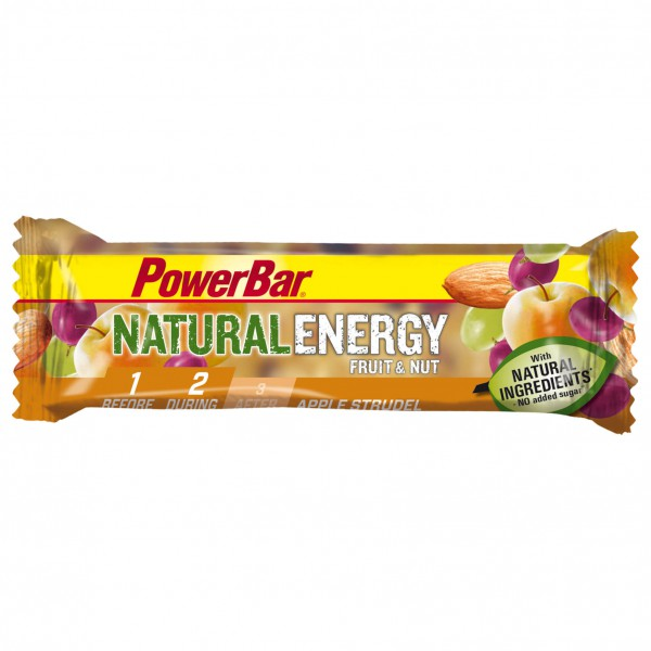PowerBar - Natural Energy Fruit & Nut - Barre énergétique